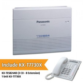 Panasonic KX-TES824ND PABX System (3 CO With 8 Extension)