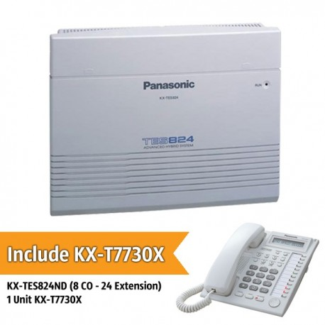Panasonic KX-TES824ND PABX System (8 CO With 24 Extension)