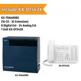 Panasonic KX-TDA600BX PABX System (16 CO - 32 Extension)