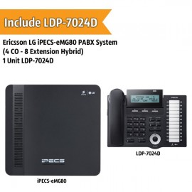 Ericsson LG iPECS-eMG80 PABX System (4 CO - 8 Extension)