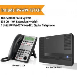 NEC SL1000 PABX System (36 CO - 104 Extension)