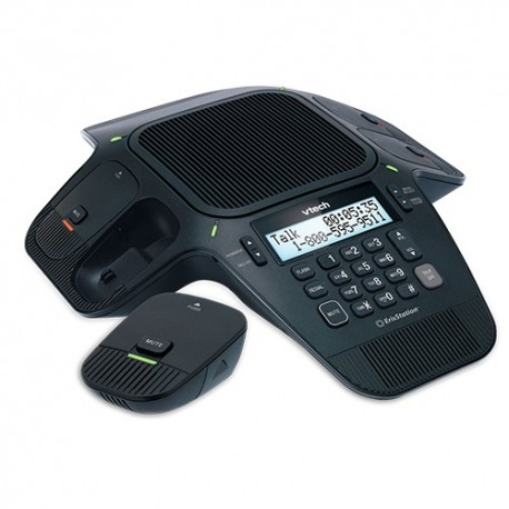 Vtech ErisStation VCS704 Conference Phone With Four Wireless Mic