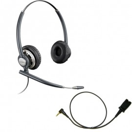 Plantronics HW720 EncorePro Wideband Binaural NC Headset