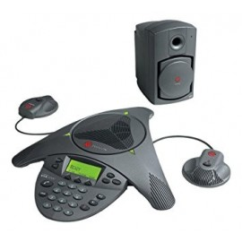 Polycom SoundStation VTX 1000 with Mics and Subwoofer