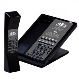 AEi ASP-8110-SMK One Line Cordless Speakerphone with Dual Keypads