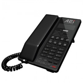 AEi SVM-9108-SM Single Line Corded SIP Speakerphone with Integrated DECT Technology