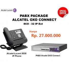 Alcatel-Lucent OXO Connect PABX System (8CO - 32 IP Ext)