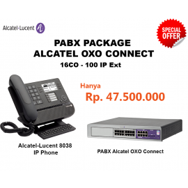 Alcatel-Lucent OXO Connect PABX System (16CO - 100 IP Ext)
