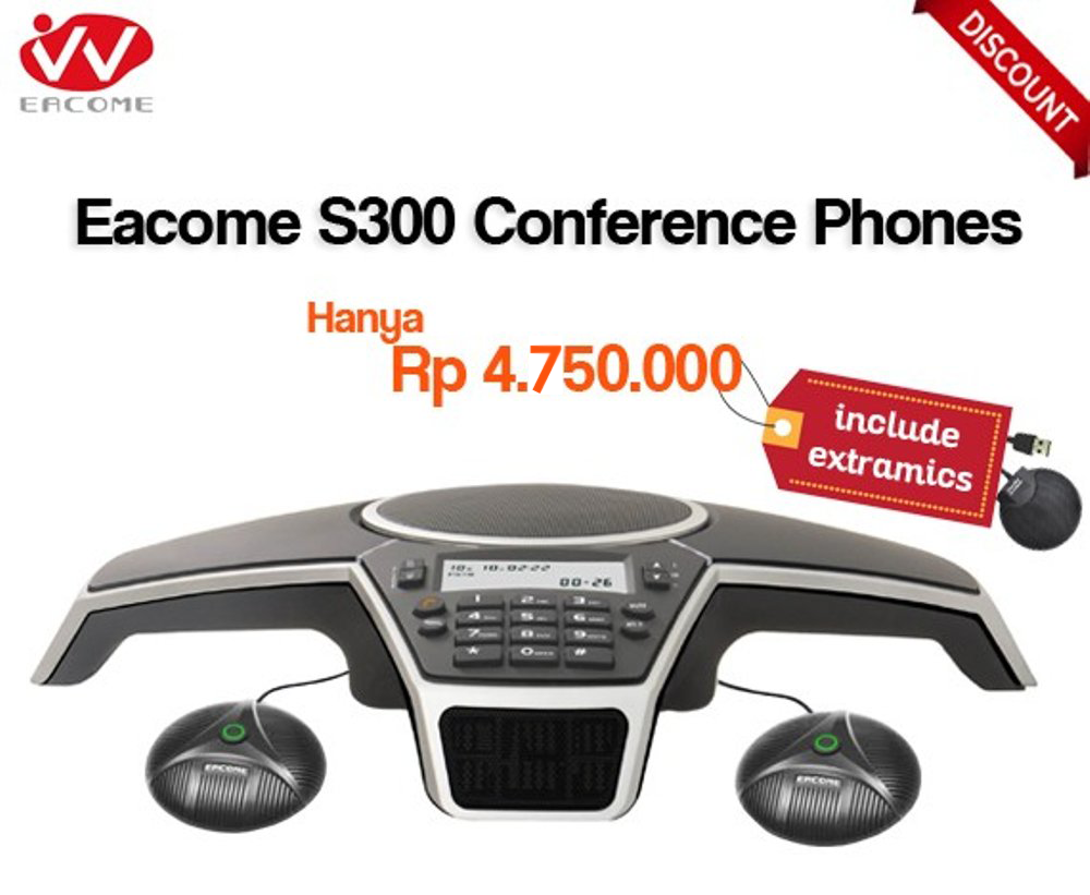 Eacome S Series S300 Conference Phones Promo